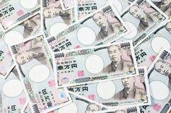 Банкнота 10000 японских иен Стоковые Изображения