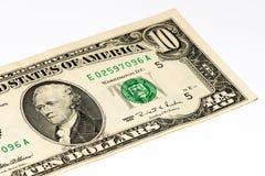 Банкнота currancy США Стоковое Изображение RF