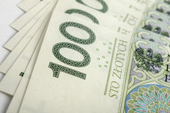 Банкнота 100 PLN Стоковые Изображения