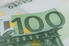 Банкноты 100 денег евро Стоковые Фотографии RF