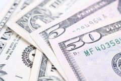 Банкноты долларовой банкноты денег крупного плана Стоковое Фото