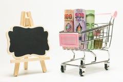 Банкноты различного значения Стоковое Фото