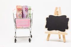 Банкноты различного значения Стоковое фото RF