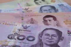 Банкноты Таиланда стоковые фото
