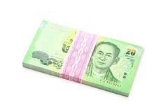Банкноты Таиланд Стоковое фото RF