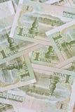Банкноты юаней китайца одного (renminbi), для концепций денег Стоковая Фотография RF