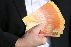 Банкноты южно-африканского ранда Стоковое Изображение RF