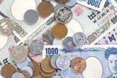 Банкноты японских иен Стоковое Изображение RF