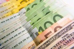 Банкноты Стоковая Фотография RF