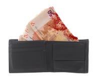 50 банкнот евро, конец-вверх Стоковые Фото
