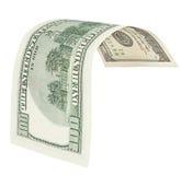 100 банкнот доллара с путем клиппирования Стоковая Фотография