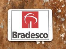 Банко логотип компании Bradesco Стоковая Фотография