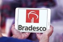 Банко логотип компании Bradesco Стоковые Фотографии RF