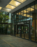 Банк входа Канады переднего Стоковая Фотография