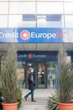 Банк Европы кредита Стоковые Изображения RF
