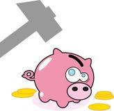 Банк денег свиньи Стоковые Фотографии RF