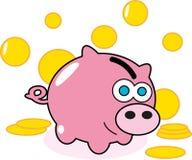 Банк денег свиньи Стоковая Фотография RF
