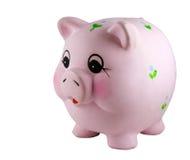 банк изолировал piggy Стоковое Изображение RF