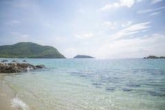 Банк малых необжитых островов Стоковая Фотография