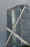 Банк небоскреба горизонта финансового центра дела Гонконга коммерчески строя Admirlty центральный Стоковые Изображения