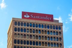 Банк Сантандера Стоковое Фото