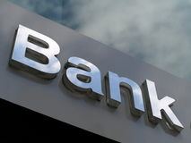 банк Стоковая Фотография
