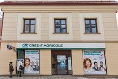Банк Agricole кредита в Rzeszow, Польше Стоковое Изображение RF
