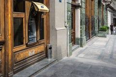 Банк ATM, Тбилиси Georgia, Европа Стоковая Фотография RF