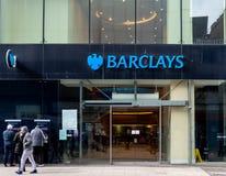 Банк Barclays Бирмингем стоковые фото