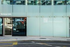 Банк BNP Paribas Стоковое Изображение RF