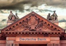 Банк Deutsche Стоковое Изображение RF