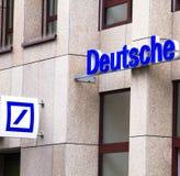 Банк Deutsche стоковые изображения