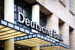 Банк Deutsche стоковые фотографии rf