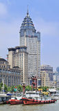 Банк ICBC размещает штаб в историческом здании, Шанхае, Китае стоковое изображение