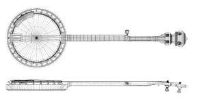 Банджо - строка 5 бесплатная иллюстрация