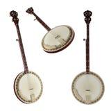 Банджо. Традиционный музыкальный инструмент Вьетнама. Стоковое Изображение