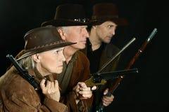 Бандиты Диких Западов Стоковое Изображение RF