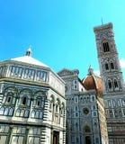 Баптистерий Флоренса в Флоренсе, Италии Стоковое Изображение RF
