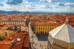 Баптистерий San Giovanni в Флоренсе Стоковое Фото