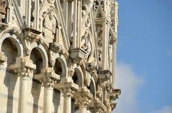 Баптистерий St. John - квадрата чудес Стоковое Изображение RF