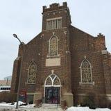 Баптистская церковь Стоковые Изображения