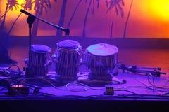 барабанит валом Стоковая Фотография RF