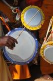 барабанит индейцем Стоковое фото RF