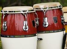 барабанит напольным Стоковая Фотография