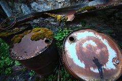 барабанит сталью polluting природы Стоковые Фотографии RF