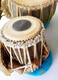 барабанит этническим индийским tabla Стоковая Фотография RF