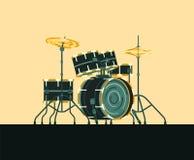 Барабанчики аппаратуры Musicial бесплатная иллюстрация