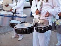 Барабанчики военного оркестра Стоковое Фото