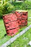 Барабанчики масла Стоковое Изображение RF