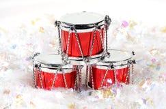 барабанчики рождества Стоковое фото RF